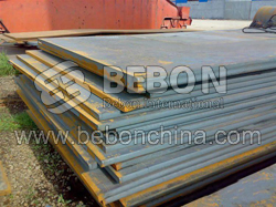 En10025 Fe 430B steel plate Carbon structural and high strength low alloy steel steel