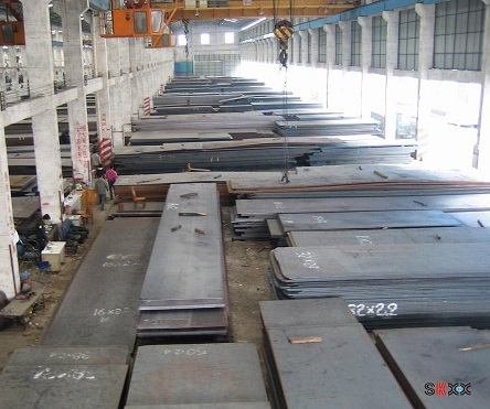 S355J2G3 alloy structure hot rolled steel plate